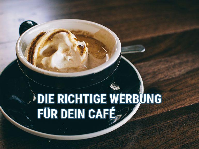 Leckerer Kaffe in einem Café