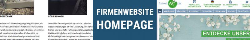 Firmenwebsite | Homepage - die besten 66 Tipps