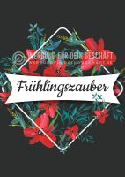 Frühlingszauber Poster | Werbetafel für den Frühling