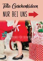 Tolle Geschenkideen Poster | Werbebanner für Ihr Geschäft