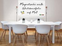 Magnetische Whiteboardfolie weiß | selbstklebend | für Magnete | verschiedene Größen