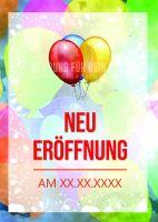 Neu Eröffnung Plakat