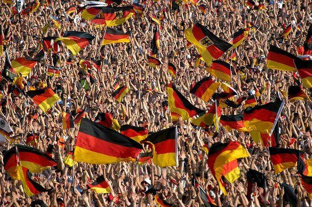 Flaggen werden als Werbeartikel oft eingesetzt