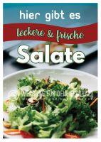 Salate Plakat | Werbeplakat für deinen Imbiss