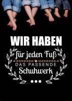Das passende Schuhwerk Poster