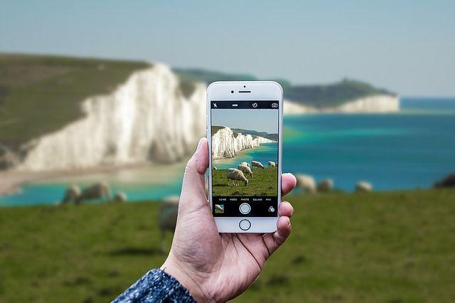 Kameraobjektiv als Smartphone-Zubehör