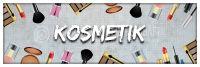 3:1 | Kosmetik Werbebanner | Kosmetikposter auch für Plakatständer | 3 zu 1 Format