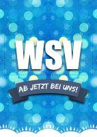 WSV bei uns Plakatwerbung | Poster kaufen