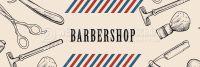 3:1 | Barbershop Werbeplakat kaufen | Werbung für Plakatständer | 3 zu 1 Format