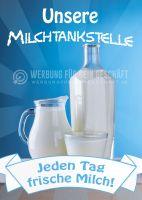 Milchtankstelle Poster