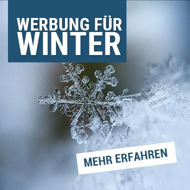 Werbung zum Thema Winter kaufen