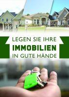 Immobilien Plakat | Werbeplakat für Immobilien Händler