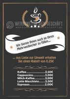 Mehrwegbecher Plakat | Werbeplakat für dein Cafe