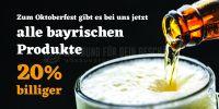 2:1 | Rabatt auf bayrische Produkte Poster | Poster auch in DIN A | 2 zu 1 Format
