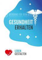 Gesundheit erhalten Poster