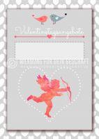 Valentinstagsangebote Werbeposter | Plakat für Werbeaufsteller