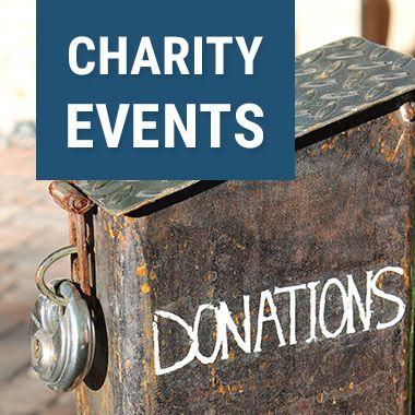 Veranstalte Charity Events für Hilfsbedürftige