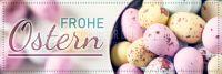 3:1 | Frohe Ostern Poster | Werbeplakat drucken lassen | 3 zu 1 Format