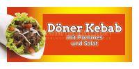2:1 | Döner Kebab Menü Werbeplakat | Poster | 2 zu 1 Format