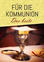 Für die Kommunion - Das beste Poster   Werbung