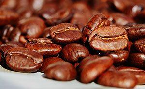 Geröstete, duftende Kaffeebohnen