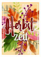 Herbstzeit Plakat | Werbeschild für Geschäfte