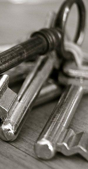 Schlüssel für einen Schuhreparaturservice
