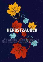 Herbstzauber Plakat | Werbeplakat für Geschäfte