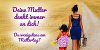 2:1 | Muttertag Poster | Werbeschild für Muttertag | 2 zu 1 Format