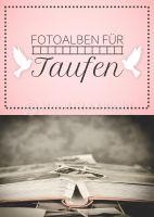 Fotoalben für die Taufe Werbeposter | Plakat auch in DIN A 1