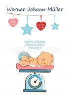 Willkommen Baby Poster | Plakat