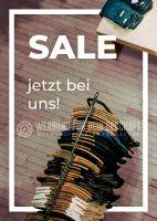 Sale jetzt bei uns! Werbetafel | Poster für Plakatständer