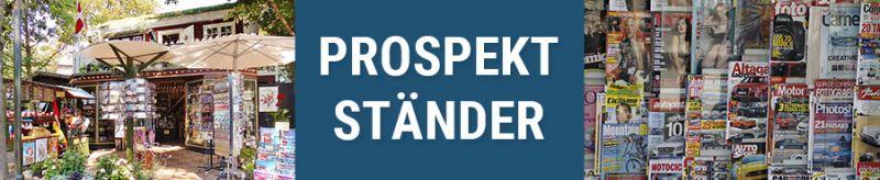 Banner für Prospektständer