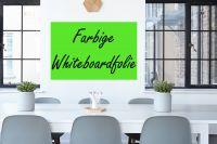 Farbige Whiteboardfolie | selbstklebend | verschiedene Farben & Größen
