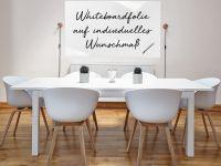 ZUSCHNITT Weiße Whiteboardfolie für Whiteboards | passgenau gefertigt