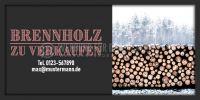 2:1   Brennholz zu verkaufen Poster   Plakat online drucken   2 zu 1 Format