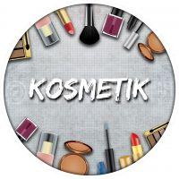 Rund | Kosmetik Werbebanner | Kosmetikposter auch für Plakatständer | Rundformat