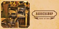 2:1 | Barbershop Werbeplakat drucken | Poster auch in DIN A 0 | 2 zu 1 Format