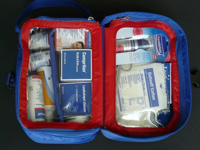 Ein Verbandskasten ist das optimale Reisewerbegeschenk