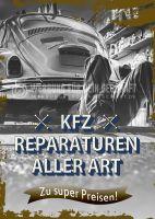 KFZ Reparaturen aller Art Poster