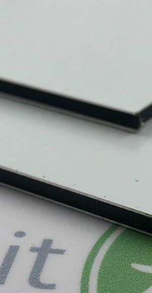 Aluminiumverbundmaterial für Buchstaben