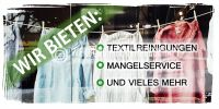 2:1 | Reinigungsservice Plakat | Werbeplakat für Textilreinigung und mehr | 2 zu 1 Format