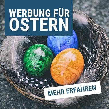 Werbung zum Thema Ostern kaufen