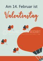 Valentinstag Poster | Werbeposter für Valentinstag