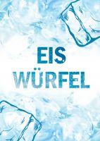 Eis Würfel Poster | Werbeposter für Geschäfte