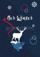 Der Winter Poster | Werbeplakat drucken lassen