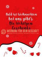 Bald ist Weihnachten Plakat | Poster kaufen