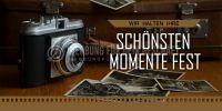 2:1 | Die schönsten Momente Poster | Werbetafel für Fotostudios | 2 zu 1 Format