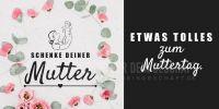 2:1 | Etwas tolles zum Muttertag Poster | Werbeposter zum Muttertag | 2 zu 1 Format