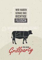 Das richtige Fleisch Poster